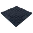 Másodosztályú gumilap 50x50cm, 20mm vastag