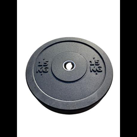 Crossfit Bumper Súlytárcsa 15 kg - Másodosztályú