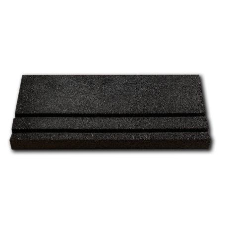 Másodosztályú ásós gumiszegő - 50x25x4cm