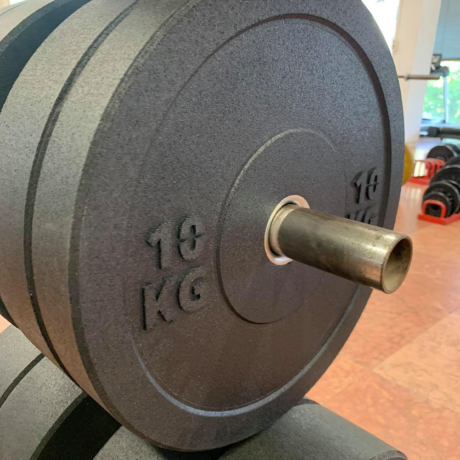 Crossfit Bumper Súlytárcsa szett 60 kg 5kg-tól 15kg-ig - 3 pár